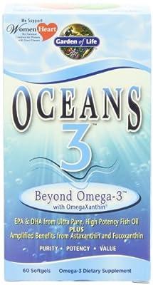 Garden of Life Oceans 3 Beyond Omega 3, 60 Soft Gels