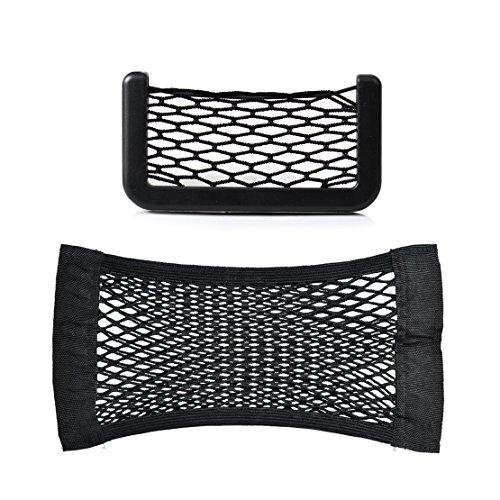 Car Auto String Storage Bag + Seat Rear Pocket Net Bag Pouch Organizer (Rear Mesh Pocket)
