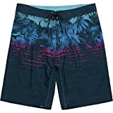 Burnside Men's Endless Quick Dry Stretch Beach Boardshort, Navy One Love, 32