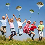 Army Camo Parachute Toys for Kids - Hand Throwing