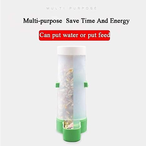 Mascotas Fuente de agua Dispensador automático de Agua de Aves ...