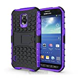 Galaxy S5 Active Case, Cocomii® [HEAVY DUTY] Grenade Case *NEW* [ULTRA TITAN ARMOR] Premium Shockproof Kickstand Bumper [MILITARY DEFENDER] Full-body Rugged Dual Layer Cover for Galaxy S5 Active (Purple) ★★★★★