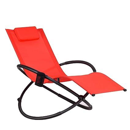 Fabulous Amazon Com Red Folding Textilene Zero Gravity Lounge Chair Pabps2019 Chair Design Images Pabps2019Com