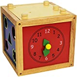 Bino 22 x 22 x 27 cm Motoric Cube Game (Multi-Colour)
