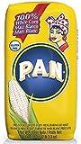 P.A.N. Pre-cooked White Corn Meal 2 lb 3.3 oz (35oz/1kg) Harina de Maiz Blanca (4 packs)