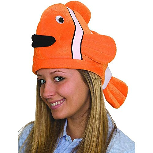 Jacobson Hat Company Clown Fish Ocean Animal Hat -