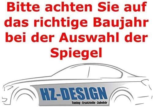 LINKS Spiegel Glas Außenspiegel Asphärisch Beheizbar für Mercedes Benz E W212