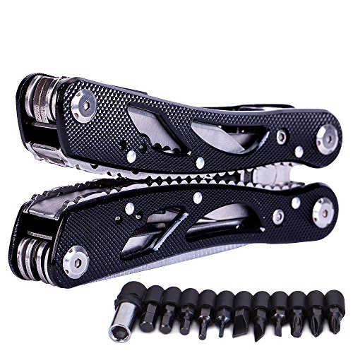 Multitools-Folding-Plier-Suspension-Multipurpose-Outdoor-Survival-Portable-11-In-1-Non-Slip-Pocket-Multi-Tool-Set-For-Men-With-PincersScrewdriver-Black