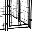 """Image of Lucky Dog 4'6""""H x 4'L x 4'W Heavy Duty Covered Welded Wire Dog Fence Pet Kennel"""