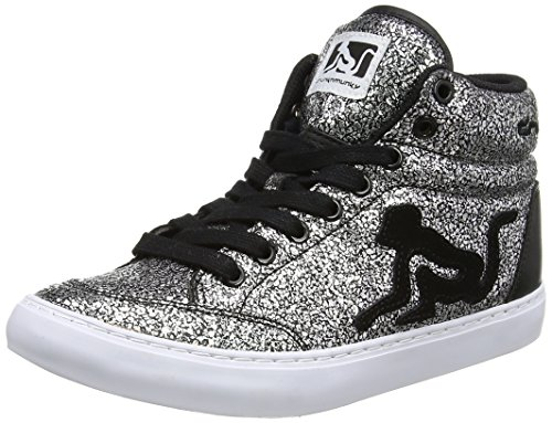 Scarpe Boston Drunknmunky black Da Argento Donna Tennis Galaxia qEdwdxOrFA