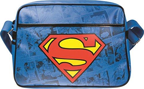 Superman - Bag Logo (in 26 cm,x 5 cm x 21 cm)