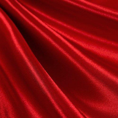 Red Satin Fabric 60