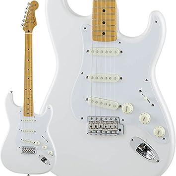 Fender tradicional 50s Stratocaster (ártico blanco) [fabricado en Japón] (importación de Japón): Amazon.es: Instrumentos musicales