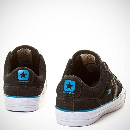 Converse Star Player Pro - Black Gravel Suede Shoe 144591C (UK8)   Amazon.co.uk  Shoes   Bags c0c7009f7