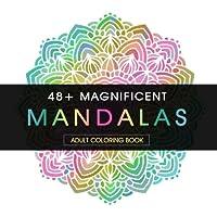 48+ Magnificent Mandalas adulto libro para colorear