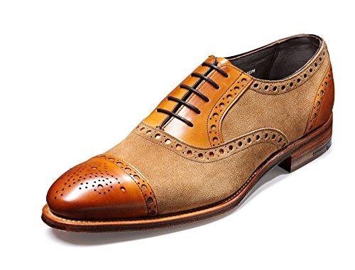 Barker Shoes - Zapatos de cordones para hombre Marrón rojo (Cedar)