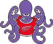 "Detroit Red Wings NHL Hockey Car Bumper Sticker Decal 5"""