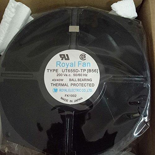 ROYALl FAN UT655D-TP [B56] axial flow cooling fan 0.24/0.26A(A)150×55mm by ROYALl FAN (Image #2)