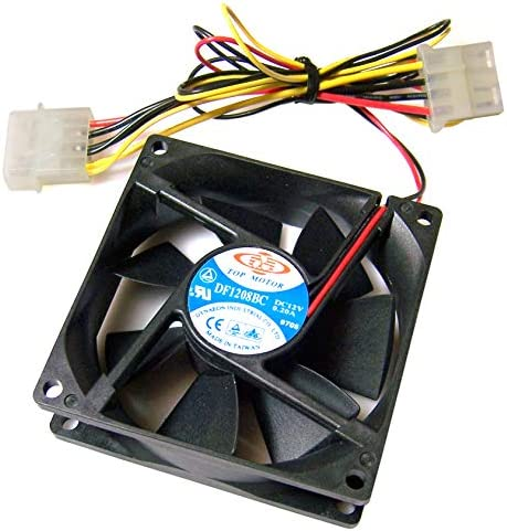 Dynaeon FAN DC12V .2A BARE ENDS DF1208BA