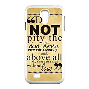 Plastic Durable Cover Hrwd Harry Potter quotes For Samsung Galaxy S4 I9500 Cases Cell phone Case