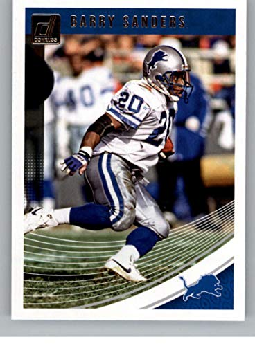 2018 Donruss Football #102 Barry Sanders Detroit Lions Official NFL Trading Card