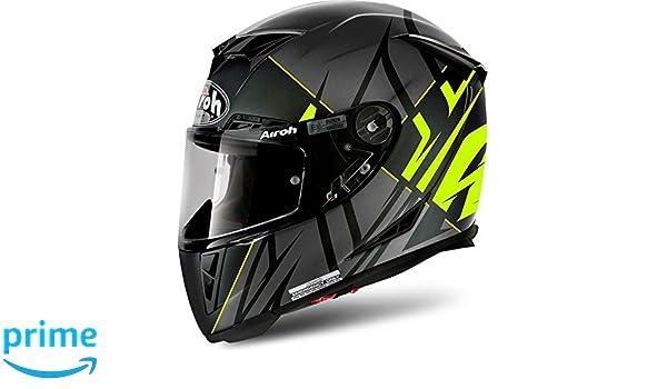 Amazon.es: Airoh Casco Integral Casco de Moto GP 500 sectors Yellow Mate XS
