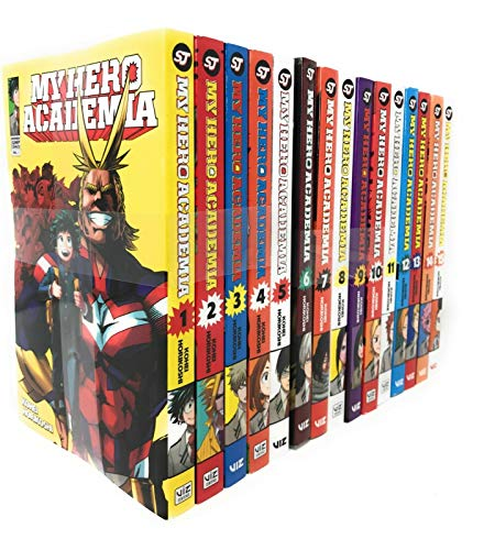 My Hero Academia Series(Vol 1-15) Collection 15 Books Set By Kohei Horikoshi ()