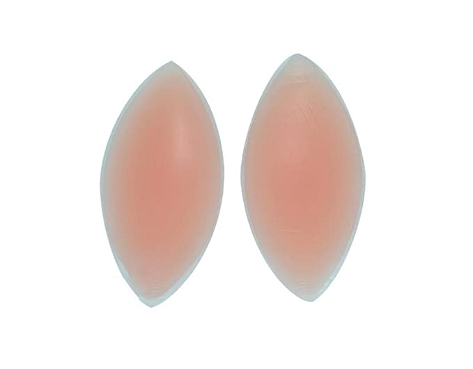 1b313fb0c7 1Pair Nude Gel Invisible Bra Inserts Breast Chest Swimsuit Pads Enhancers  Push-up Molding Pad