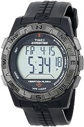 TIMEX Men's T498519J Rugged Digital CAT (Chrono/Alarm/Timer) Vibration Alarm Watch