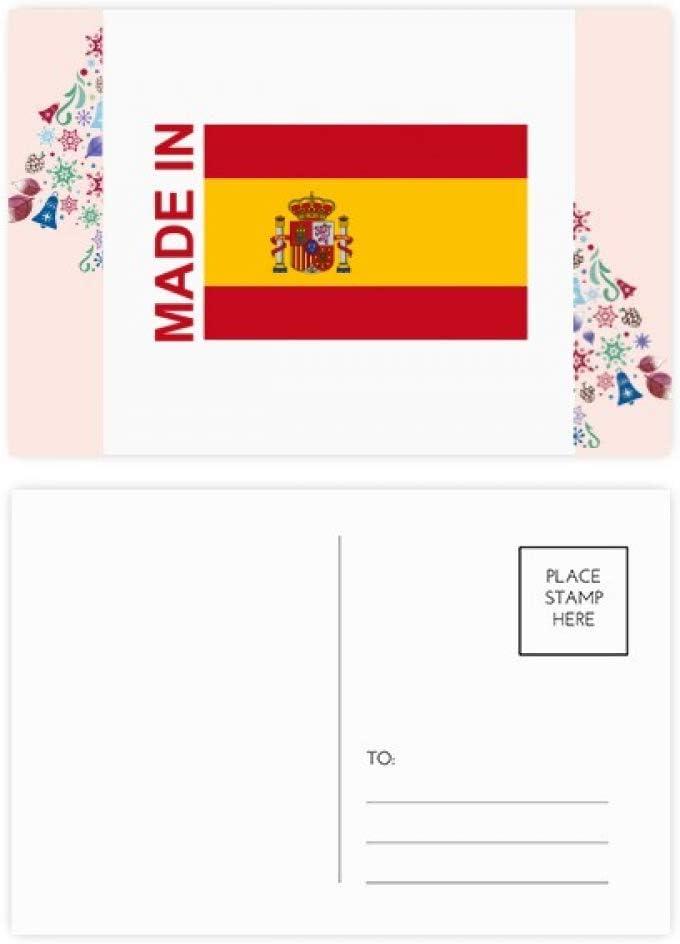 Tarjetas de agradecimiento, diseño de árbol de Navidad, 20 unidades, hechas en España: Amazon.es: Oficina y papelería