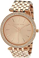Michael Kors Darci Rose Gold Stainless Steel Watch MK3192