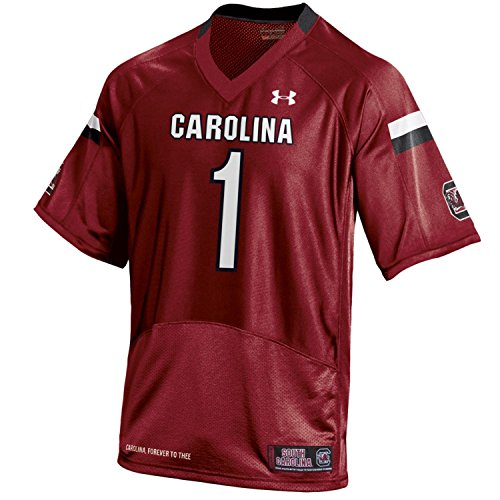 NCAA South Carolina Fighting Gamecocks Men's Football Replica Jersey, Cardinal, X-Large (Jersey Football Gamecocks Replica South Carolina)