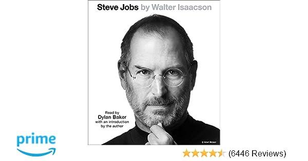 Steve Jobs Walter Isaacson Dylan Baker Amazon