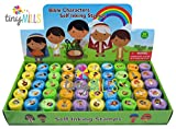 TINYMILLS 50 Pcs Bible Characters Religious Assorted Stampers for Kids