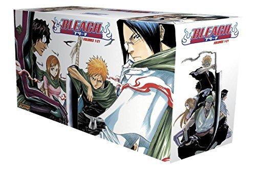 Bleach Box Set 1: Volumes 1-21 by Tite Kubo (Box set, 26 Feb 2015) Paperback