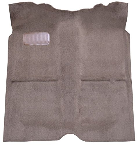 1989 to 1995 Toyota Standard Cab Pickup Truck Carpet Custom Molded Replacement Kit, All models (89-Early 95) (897-Charcoal Plush Cut Pile)