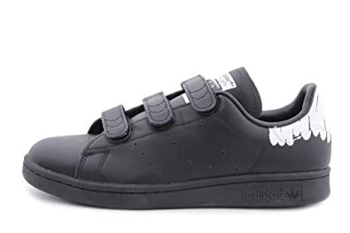new products ac4b5 ad130 adidas Originals Women s Stan Smith CF W Running Shoe Black White, 5 Medium  US