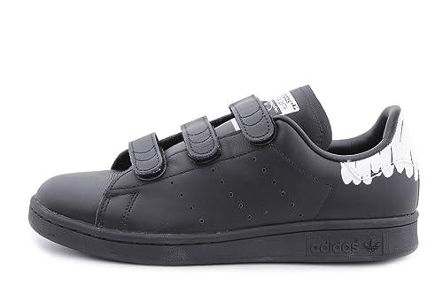 newest 7601e 71d2e adidas Originals Stan Smith CF W Donna, Nero (Black Black White)