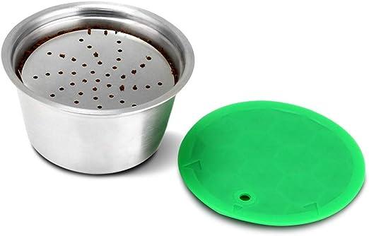 ChanYYw Cápsula de filtro de café – Reutilizable Acero Inoxidable ...