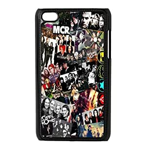 Popular Music Band My Chemical Romance Pattern Productive Back Phone Case FOR IPod Touch 4th -Style-2