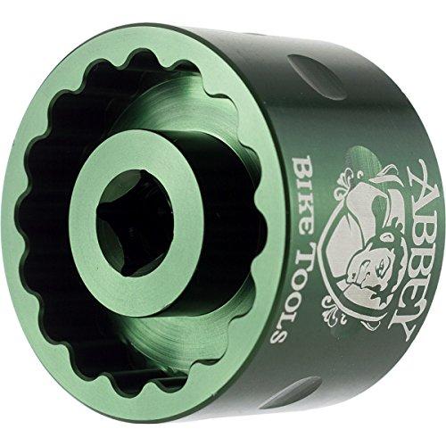 Abbey Bike Tools Bottom Bracket Socket - Dual Sided Dura Ace & Ultegra Green, Dura Ace and Ultegra