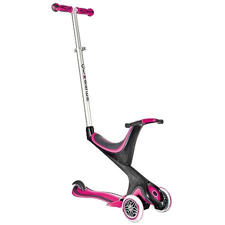 Globber My Free 5 in 1 Roller mit DREI Rädern, Farben zur Auswahl