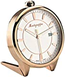Montegrappa Fortuna White Dial Rose Gold Plated