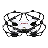 Virhuck GB202 Mini Drone 2.4GHz 4CH 6-AXIS GYRO Multicolor LED, Little Nano RTF Quadcopter with 3D Flips, White