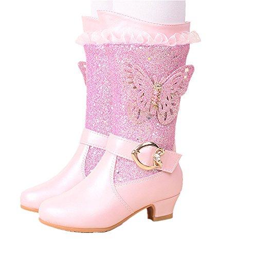 pit4tk hommes / femmes longues bottes d'hiver des chaussures de de princesse de de gamins de coton de haute qualité et bon marché des bottes princesse bottes hv24294 excellents british. 73072b