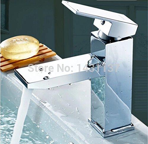 5151buyworld Top Qualität Wasserhahn Messing Maßerial Badezimmer Hot und Cold Hebel faucetfor Badezimmer Küche Home Gaden (begriffsklärung)