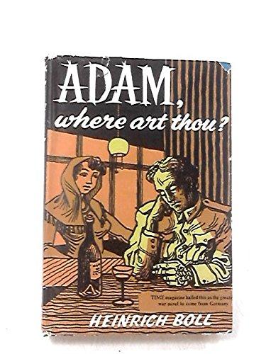 Adam, Where Art Thou?