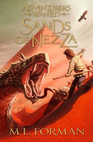 book cover of Sands of Nezza