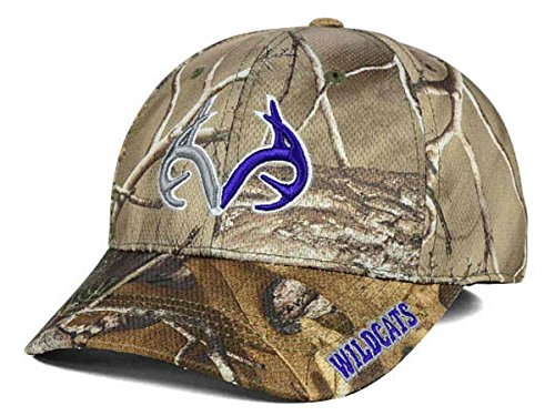 Top of the World Kansas State Wildcats Tow Realtree Xtra Camo Brand 1 Antler Flexfit Hat Cap