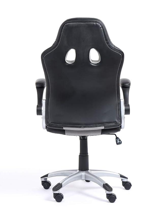 Office Pro Silla de Oficina Racing Tipo Gaming Modelo Gamy (Gris Claro): Amazon.es: Hogar